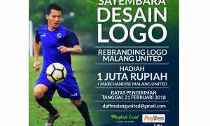 Pengumuman sayembara desain logo Malang United (Facebook)