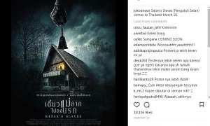 Poster film Pengabdi Setan di Thailand (Instagram @jokoanwar)