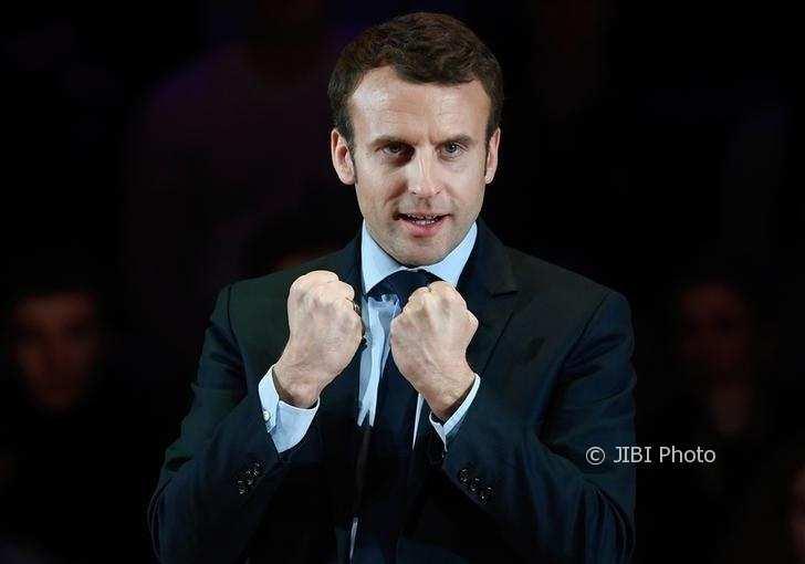 Presiden Prancis, Emmanuel Macron. (Reuters)
