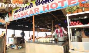 Proses membuat roti naan (paratha) dengan melempar adonan ke tukang goreng (Youtube)