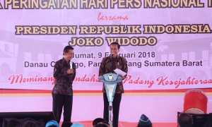 Puncak Peringatan Hari Pers Nasional (HPN) 2018 (Setkab.go.id)