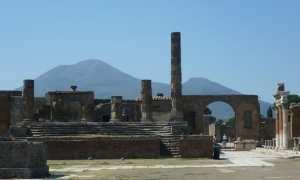 Reruntuhan Kota Pompeii. (Wikimedia.org)