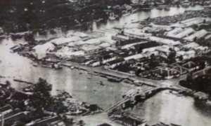 Situasi Kota Banjarmasin pada 1942 koleksi Museum Provinsi Kalsel Lambung Mangkurat, Banjarbaru. (fatiaummi.blogspot.co.id)