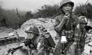 Ilustrasi perang.