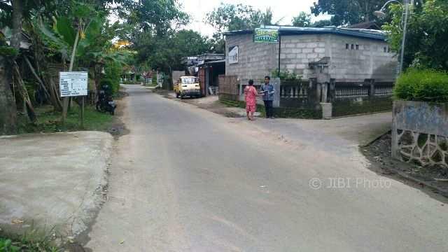 Tempat kejadian dijatuhkannya bocah perempuan asal Bayat, Klaten, bernama Della, di Dukung Balong, Desa Paseban, Kecamatan Bayat, Klaten, Jumat (9/2/2018). (Cahyadi Kurniawan/JIBI/SOLOPOS)