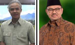 Ganjar Pranowo (kiri) dan Sudirman Said (kanan). (Instagram-@ganjar_pranowo/Twitter-@sudirmansaid)