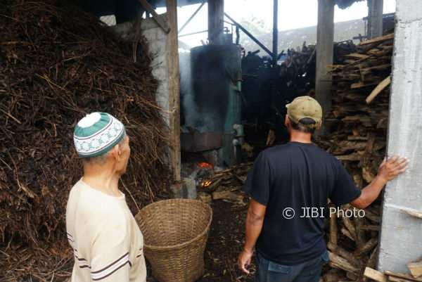 Sumber percikan api yang sempat membuat kebakaran di Dulurejo, Siraman, Wonosari, Rabu (7/2/2018). (Harian Jogja/Herlambang Jati Kusumo)