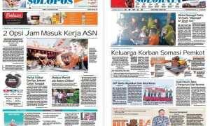 Harian Umum Solopos edisi Sabtu 3 Maret 2018