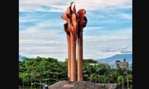 Monumen Bandung Lautan Api. (Wikimedia.org)