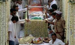 Pemakaman artis Sridevi (Danish Siddiqui/JIBI/Reuters)