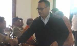 Sudirman Said di acara bertajuk Paparan Visi Misi Para Calon Bupati-Wakil Bupati Kabupaten Temanggung Calon Gubernur-Wakil Gubernur Provinsi Jawa Tengah, 17 Februari 2018. (Youtube-Dirman Ida)
