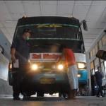 Uji kelayakan bus AKAP