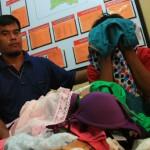 Pencurian pakaian di SGM