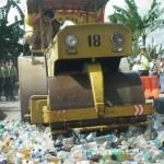 Ribuan liter Miras dimusnahkan