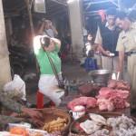 Daging berformalin ditemukan di Pasar Kota