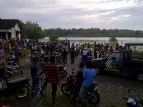 Perahu terbalik di Sungai Bengawan Solo, 1 ditemukan tewas
