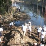 Sungai Langsur dan Jenes tercemar limbah