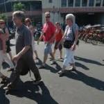 Kunjungan turis asing tumbuh tipis