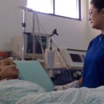 Pasien keringat darah akan diterbangkan ke Jakarta