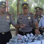 Polisi amankan ribuan petasan di Godong