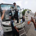 ANGKUTAN LEBARAN 2015 : Bus Kurang Diminati, Penumpang KA Melonjak