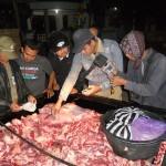 Diwarnai aksi kejar-kejaran, pengiriman ratusan kilogram daging glonggongan digagalkan
