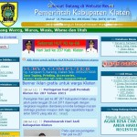Website resmi Pemkab Klaten jarang di-upgrade