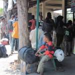 Jumlah pemudik di Terminal Wonogiri turun 40%