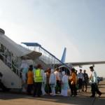 Kloter pertama Indonesia tiba di Jeddah 2 Oktober