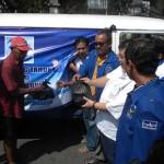 DPC PD Sukoharjo bagikan Sembako