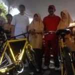 Syaifudin mengejar mimpi melalui sepeda...