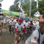 Ribuan orang ikuti sepeda santai