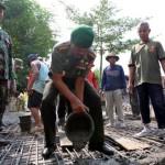 Lewat TMMD, TNI Buka Akses Karangpandan-Ngargoyoso Karanganyar