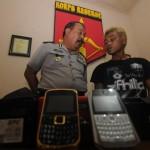 Pembobol konter ponsel dibekuk polisi