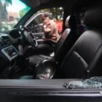 Pecahkan kaca mobil, maling gasak uang tamu hotel