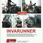 Invarunner, sepeda motor modifikasi bagi difabel