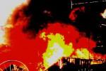 KEBAKARAN: Tungku Ditinggalkan Menyala, Dapur Terbakar