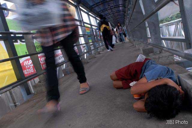 KEMISKINAN JATENG : Duh, Jumlah Warga Miskin di Kota Bertambah