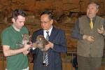 MACAN TUTUL JAWA:  Lahir di Kebun Binatang Berlin, Anak Macan Tutul Jawa Dinamai Arjuna dan Srikandi