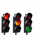 LALU LINTAS SOLO : Dishub Pasang APILL Flashing di 5 Lokasi Rawan Kecelakaan