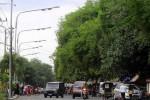 INFRASTRUKTUR KARANGANYAR : Minim Lampu PJU, Pengguna Jl. Lawu Timur Wajib Waspada