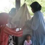 Petugas Absen, Para Ibu di Imonggo Gelar Posyandu Mandiri