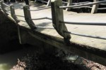 INFRASTRUKTUR KARANGANYAR : Jembatan Kepuh-Sindon Jatipuro Longsor Sebagian