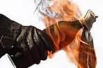 BOM MOLOTOV SLEMAN : Berkat Tetangga, Api Segera Dipadamkan