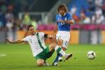 Kalahkan Irlandia 0-2, Italia Dampingi Spanyol ke Delapan Besar