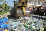 RIBUAN LITER MIRAS Bakal Dimusnahkan di Balaikota