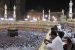 Aktivitas ibadah di dalam Masjidil Haram di Mekkah, Arab Saudi.(JIBI/SOLOPOS/Reuters)