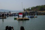 Upacara bendera di WGM Wonogiri. Kegiatan semacam ini dilarang pada peringatan Kemerdekaan Indonesia tahun ini. (Dokumen Solopos)