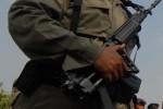 BRIMOB Jaga Lokasi Penembakan Polisi di Singosaren