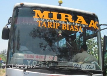 Ilustrasi bus Mira (JIBI/Solopos/Dok)